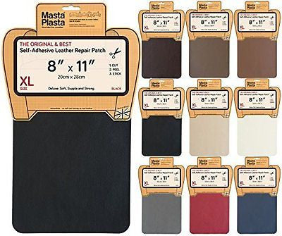 MastaPlasta, Leather Repair Patch, First-aid for Sofas Car Seats, Handbags