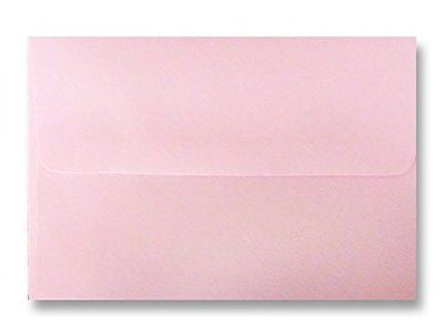 "Free Shipping 100 Boxed Baby Pastel Pink Envelopes for 5"" X 7"" Greeting Cards"