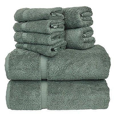 Luxury Hotel & Spa Bath Towel Set 100% Genuine Turkish Cotton Towel Bundle