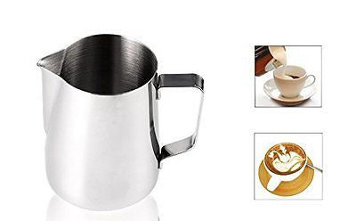 Stainless Steel Milk Cup Frothing Pitchers Durable Milk Frother Jug