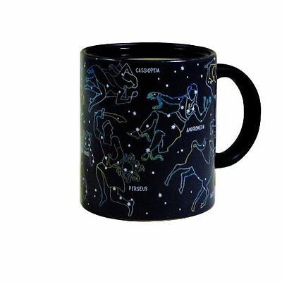 The Constellation Mug - Heat Sensitive Color Changing Coffee Cup
