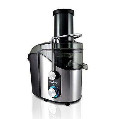 High Power Juice Extractor, Juicer 800 Watt, Stainless Steel