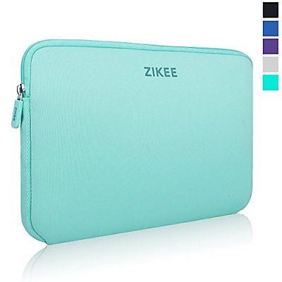 Zikee Laptop Sleeve Case Bag 15 15.4 15.6 inch Neoprene Water resistant