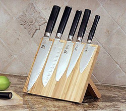 Bamboo Magnetic KNIFEdock revolutionized storing and displaying your knifes