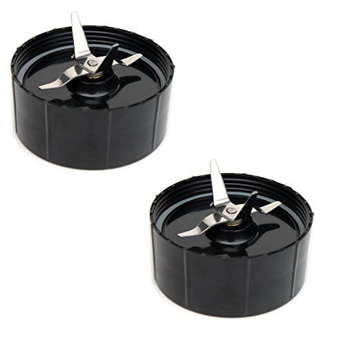 2 Replacement Cross Blades for the Magic Bullet Blender Juicer Mixer