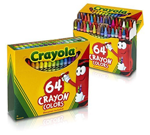 Crayola 64 Ct Crayons (Pack of 2)