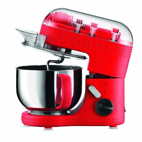 11381-294US Bistro Electric Stand Mixer, 4.7-Liter, Red