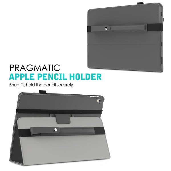 Apple Pencil Case Holder - MoKo Premium PU Leather Elastic Pencil Pocket Sleeve