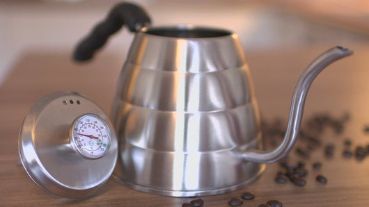 1.2L THERMOMETER Drip Coffee Tea Kettle Pour Over Coffee Kettle by Coffee Gator