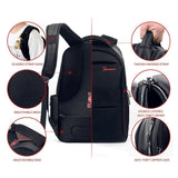 Laptop Backpack - Computer Bag Water Resistant Slim Lightweight Anti-theft