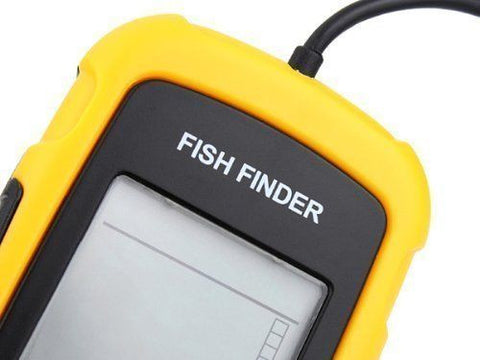 Portable Wired Fish Finder Sonar Sensor Alarm Transducer Fishfinder