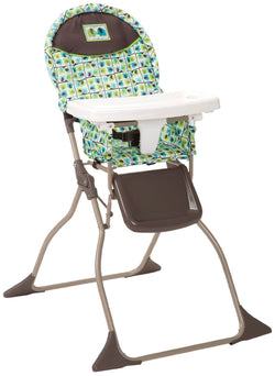 Cosco Simple Fold High Chair Elephant Squares
