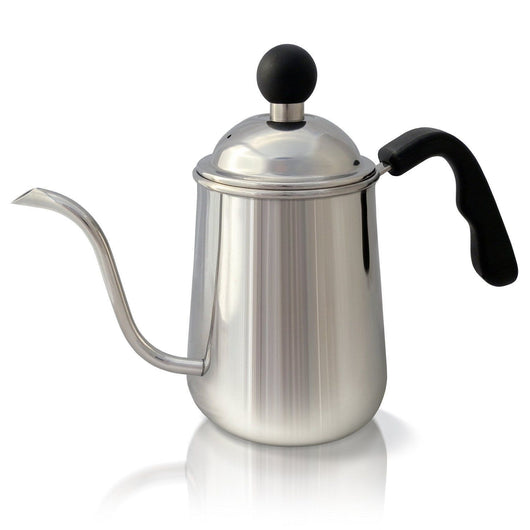 Premium Pour Over Coffee & Tea Kettle 1L. Stainless Steel Gooseneck Drip Pot