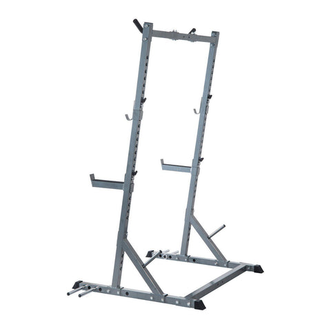 Soozier Ultimate Strength Training Squat Rack - Silver