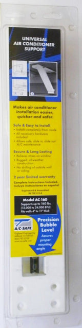 A/C Safe AC-160 Universal Heavy Duty Window Air Conditioner Support
