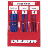 Learning Resources Place Value And Counting Pocket Chart