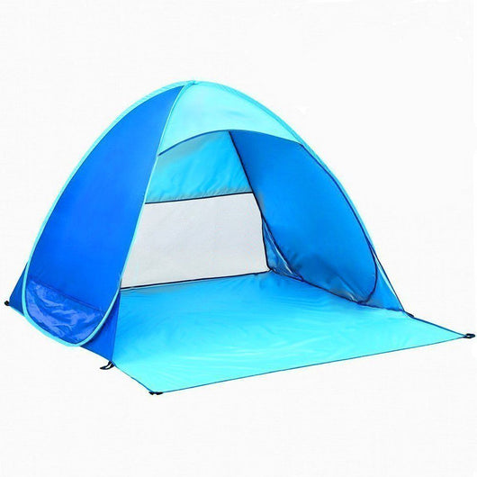 Portable Outdoor Automatic Pop Up Instant Quick Cabana Beach Tent Sun Shelter