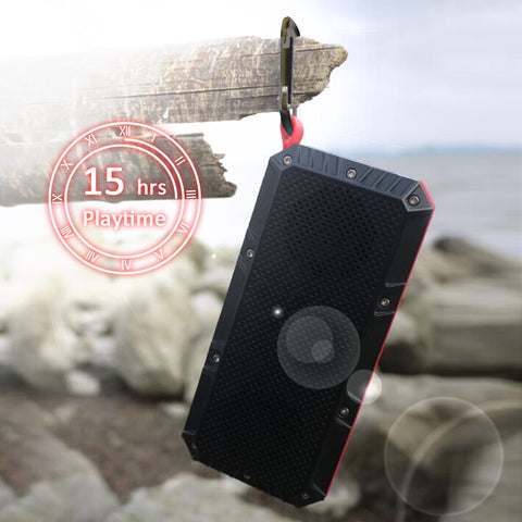 Travel Inspira Bluetooth Portable Speaker Water Resistant Rechargeable Battery