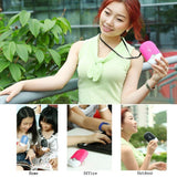 ESUMIC Portable Mini Air Conditioner Travel Handheld USB Rechargeable Cool Fan