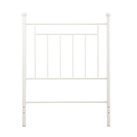 Dorel Living Metal Headboard Twin White