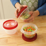 TakeAlongs 2 Cup Twist & Seal Food Storage Container 3 Pack