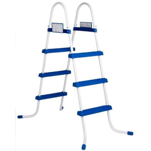 Intex Above Ground Swimming Pool Steel Frame 48 Slip Resistant Ladder 28062E