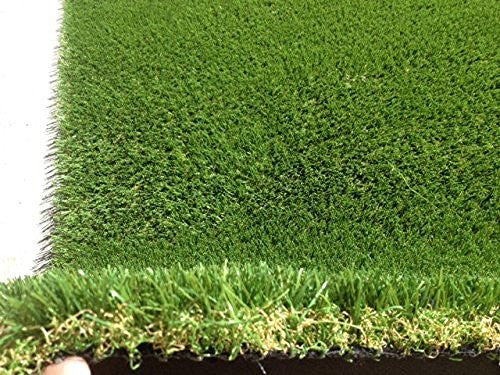 6' (Feet) x15' (Feet) Rye Fescue Light (87 oz) Artificial Grass