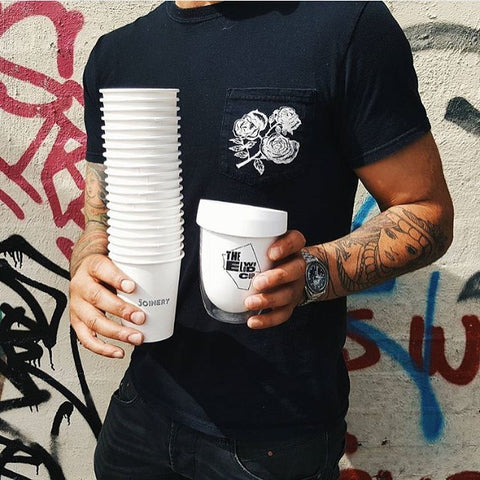 Reusable cup vs disposable cups