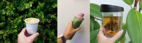 Reusable cups and bottles