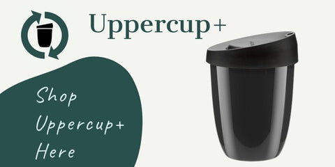 Uppercup+ reusable coffee cup