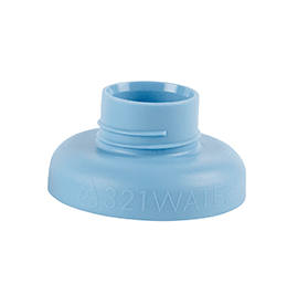 321 Tops water bottle blue top