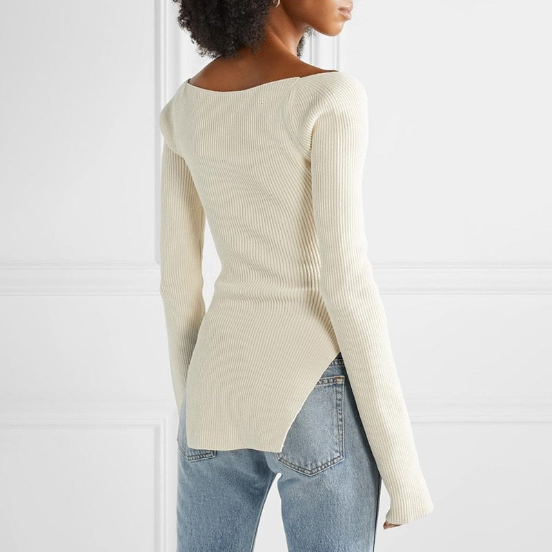 Split Sleeve Sweater
