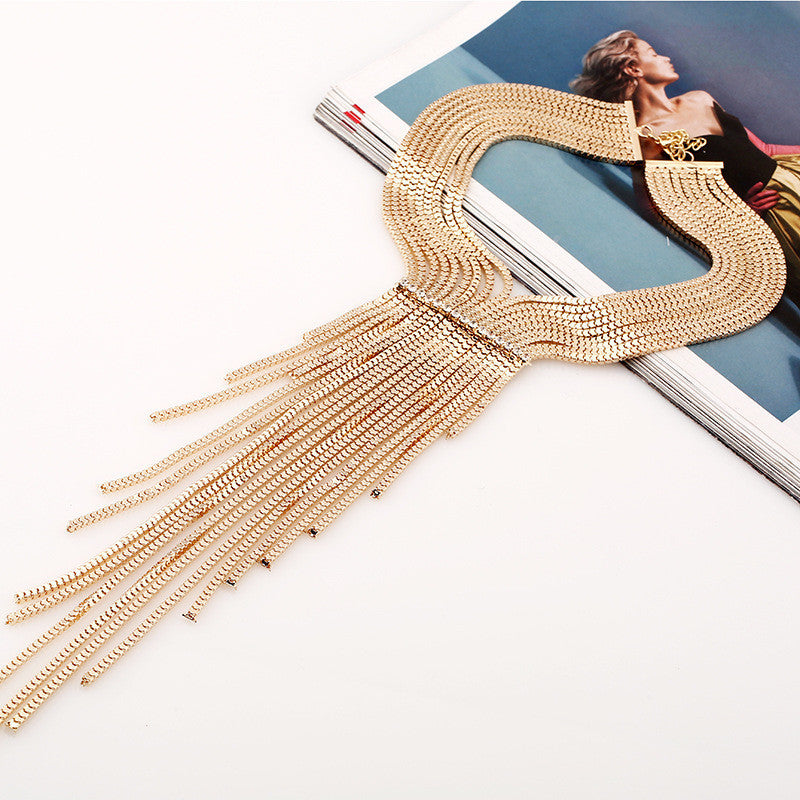 Long Tassels Necklace