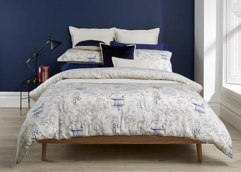 "Christy ""Japanese Maple"" Bed Linen - Colour Linen"