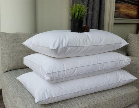 "Linen Obsession ""Microfibre"" Back Sleeper Pillow 50x75+5 cm"