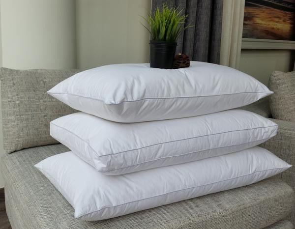 "Linen Obsession ""Microfibre"" Side Sleeper ""Extra Thick"" Pillow - 50x75+10 cm"