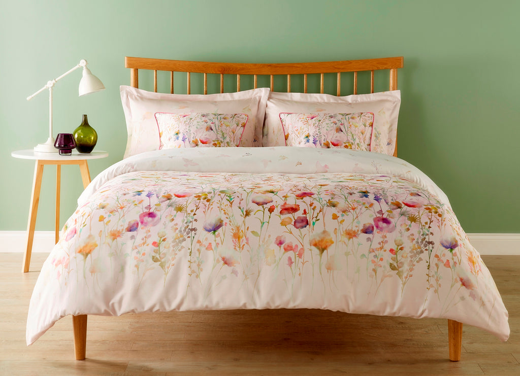 "Christy Spanish Range ""Alabama"" Bed Linen - Colour Pink"