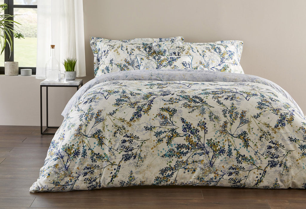 "Christy Spanish Range ""Alex"" Bed Linen - Colour Teal"