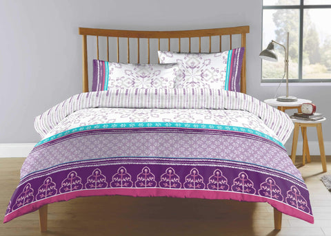 "Kingsley ""Anika"" Bed Linen - Purple"