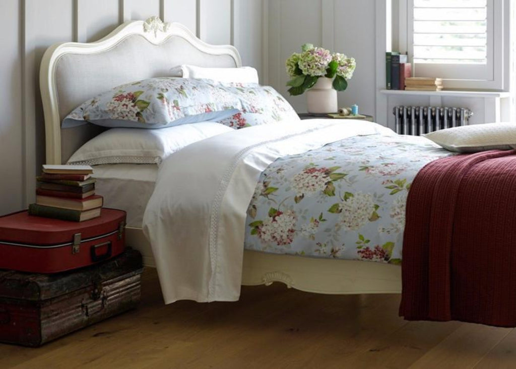 "Christy ""Annabelle"" Bed Linen - colour Spring Blue"