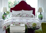 "Christy ""Annabelle"" Duvet Cover Sets in Colour Berry"