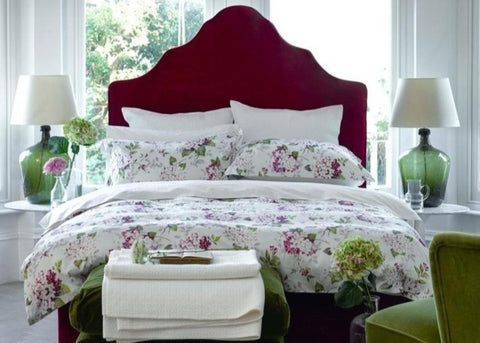 "Christy ""Annabelle"" Bed Linen - colour Berry"