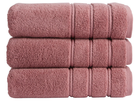 "NEW! - Christy ""Antalya"" Bath Towels - Rose Pink Colour"