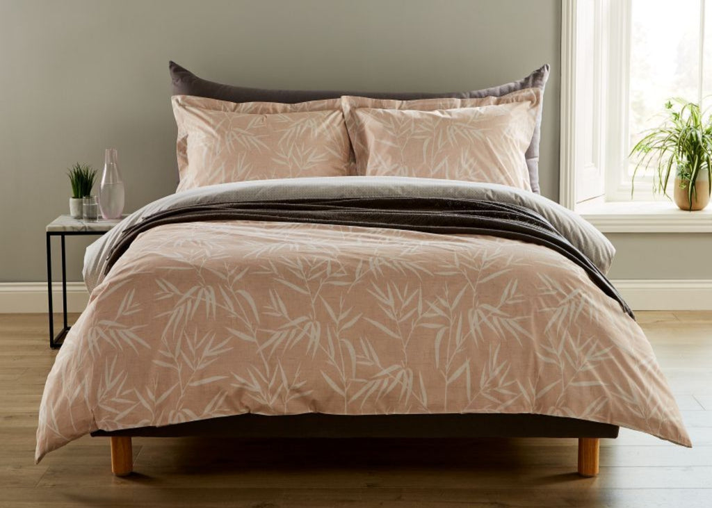 "Christy ""Bamboo"" Bed Linen - Colour Blush"