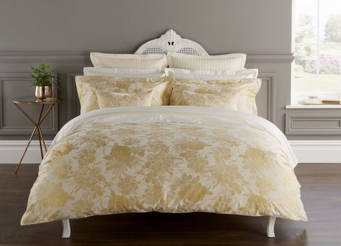 "Christy"" Belford"" Bedlinen - colour Gold"