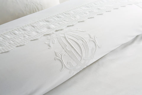"Henry Christy ""Charlton"" Bed Linen - Colour White"