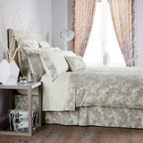 "Christy ""Mosaic"" Bed Linen - Colour Taupe"