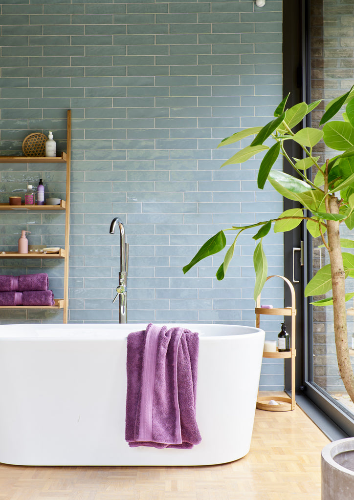 "Christy ""Supreme"" Towel and Bath Mat Collection in Orchid"