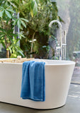 "Christy ""Supreme"" Towel and Bath Mat Collection in Cadet Blue"