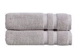 "NEW! - Christy ""Chroma"" Bath Towels - Dove Grey Colour"
